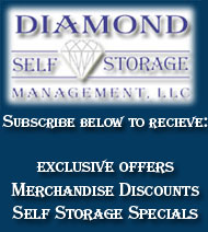 Subscribe to the Newsletter Here - Diamond Self Storage Management